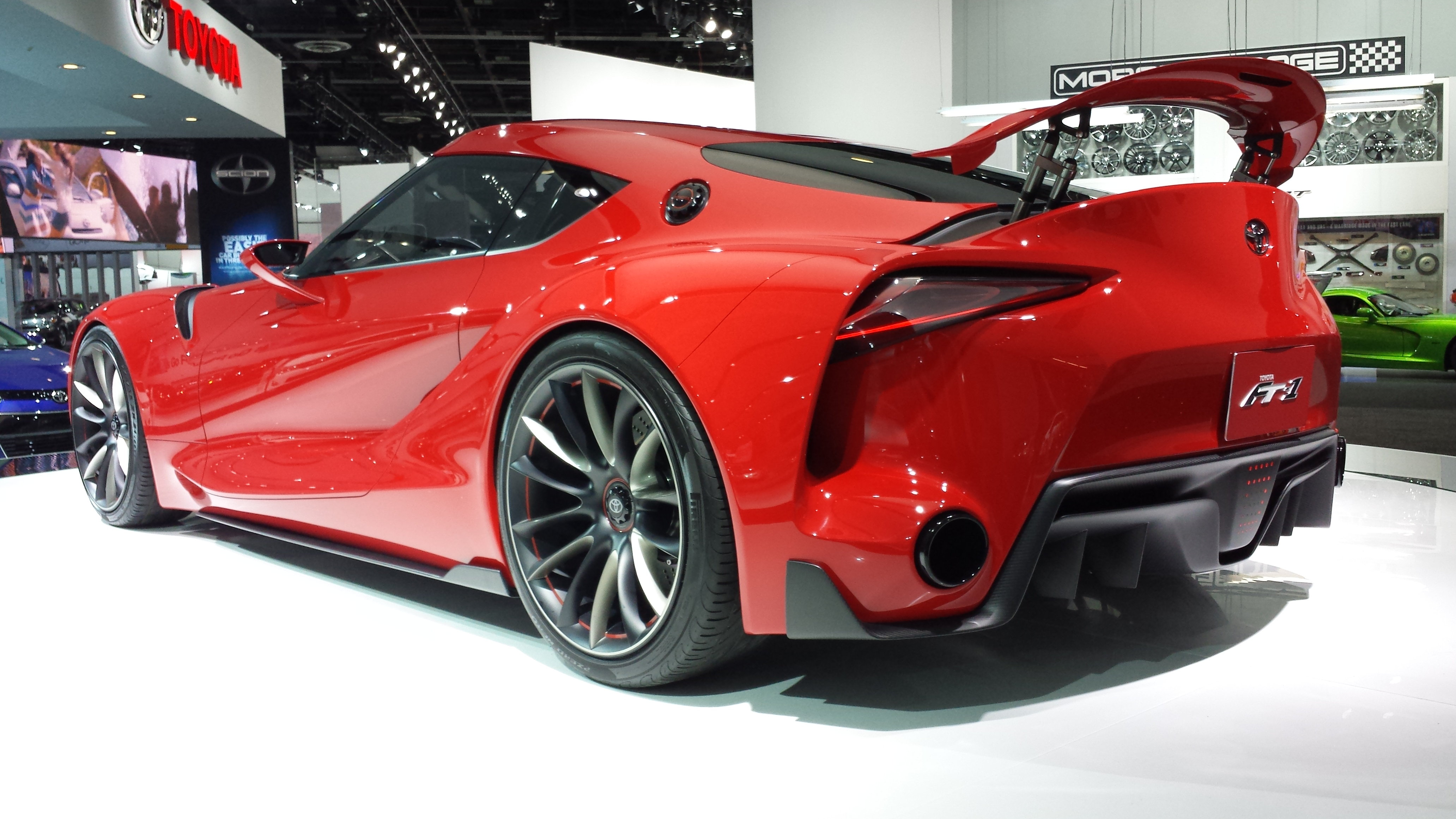 Toyota FT 1 Concept 5